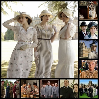 downton collage