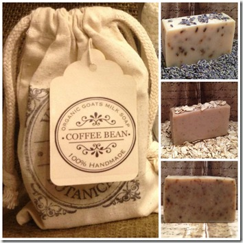 verbena soaps collage